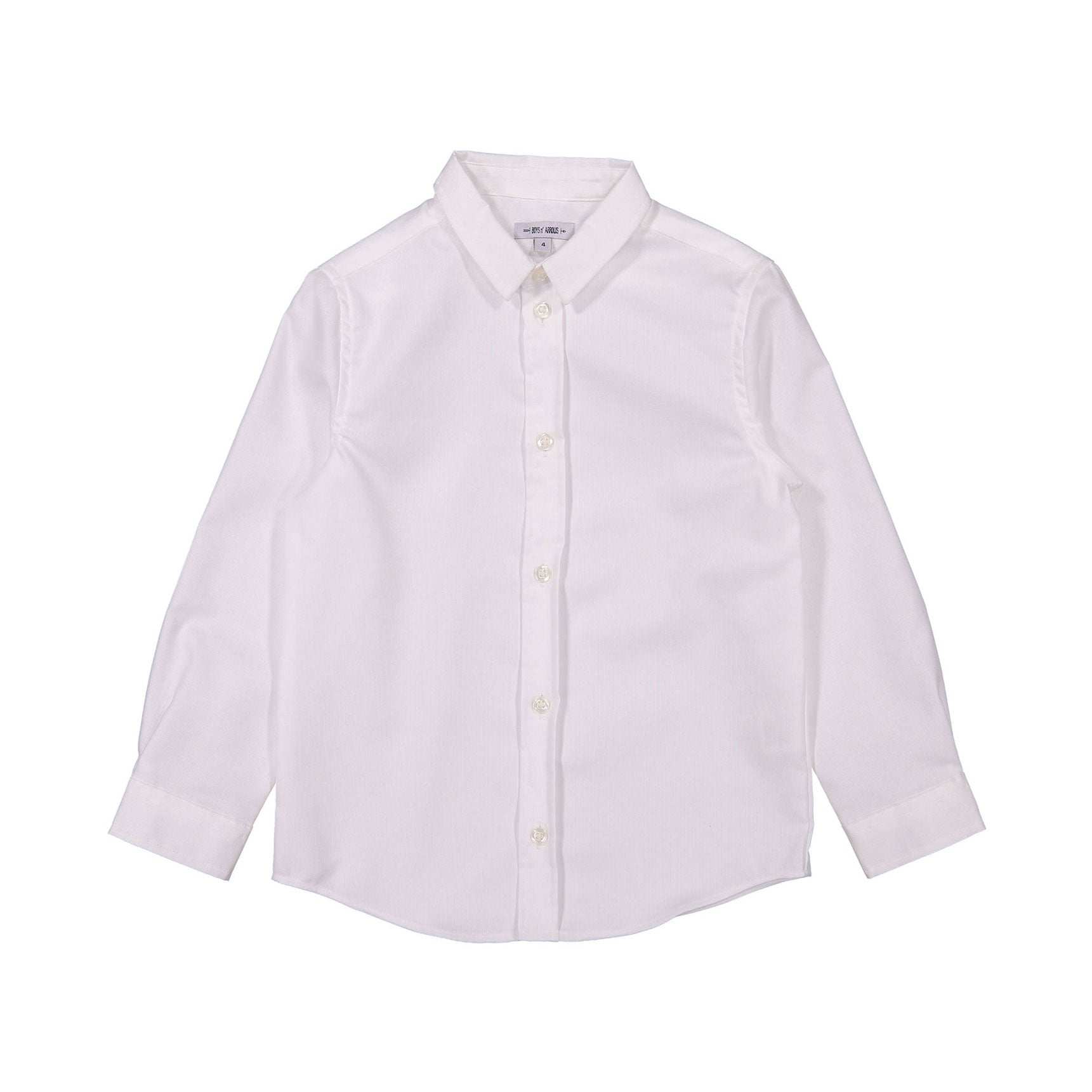 Boys and Arrows White Long Sleeve Shirt