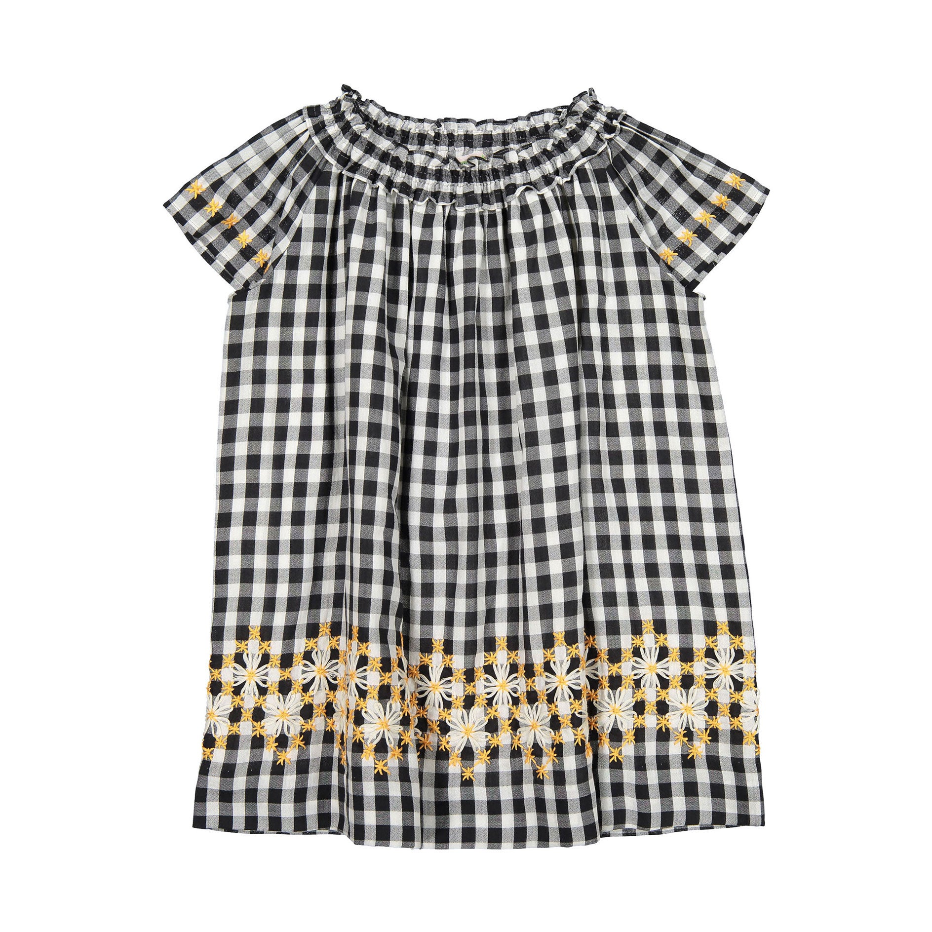72bf8d47b0a Bonpoint Gingham Embroidered Goldie Dress