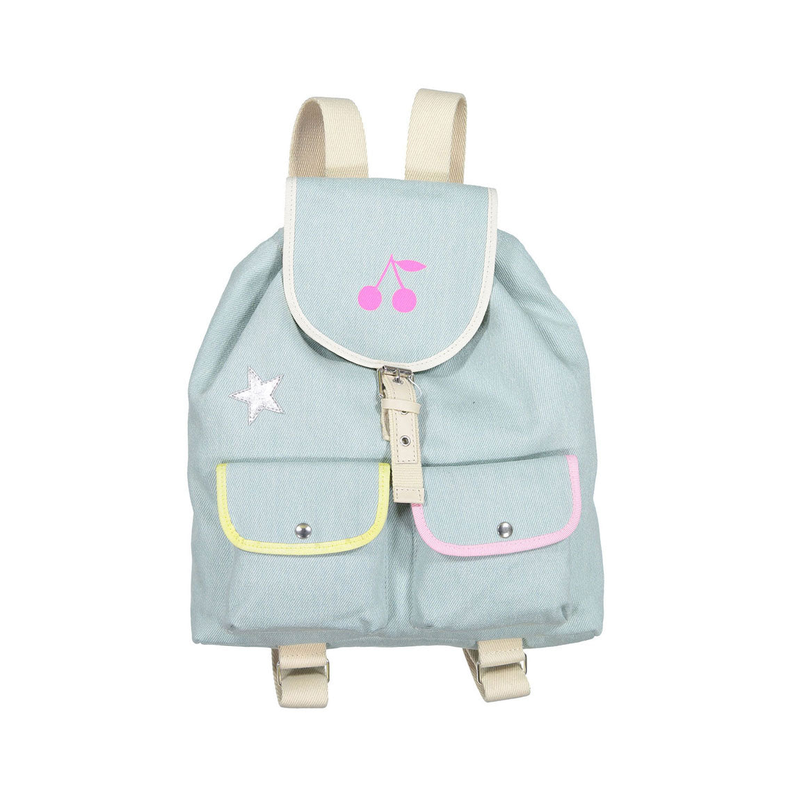 Bonpoint Denim Patches Backpack