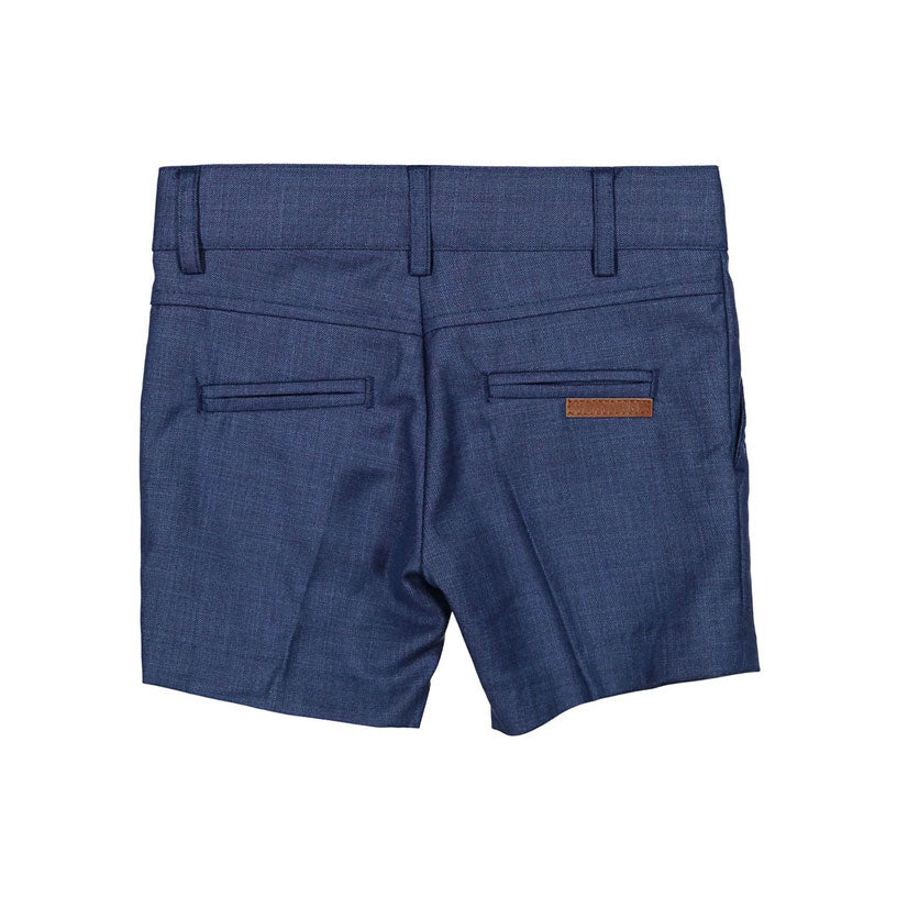 Boys and Arrows Dusty Blue Tweed Skinny Shorts