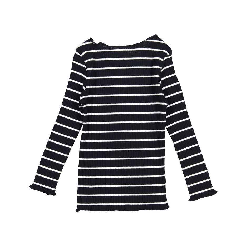 LADIDA Black Stripe Girls Pjs