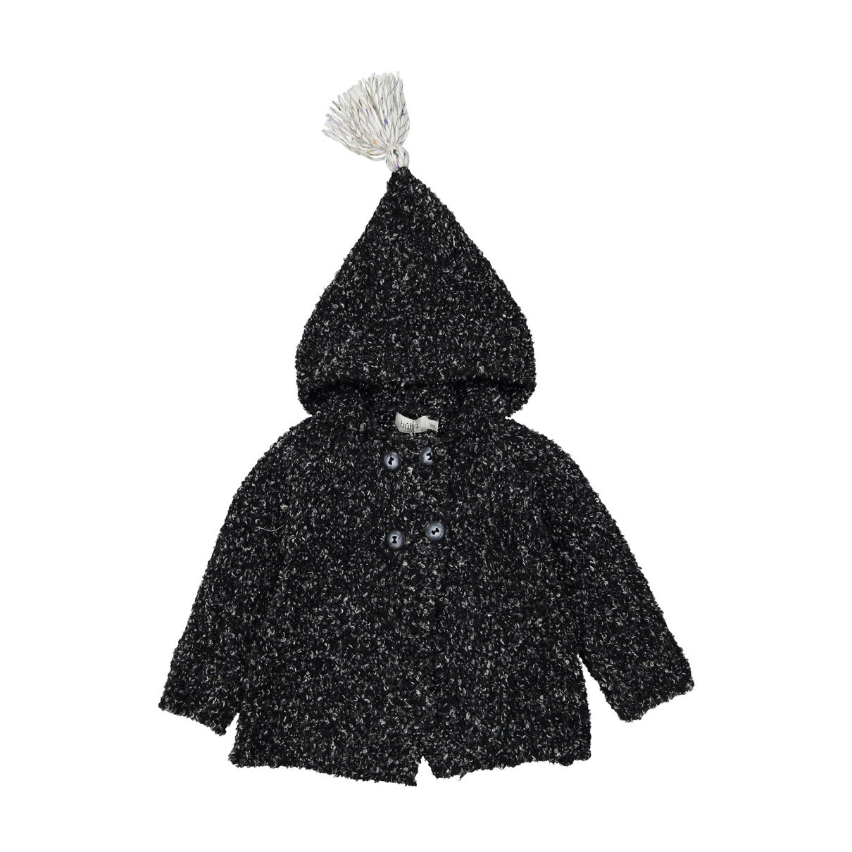 Buho Anthracite Mario Knit Hood Jacket