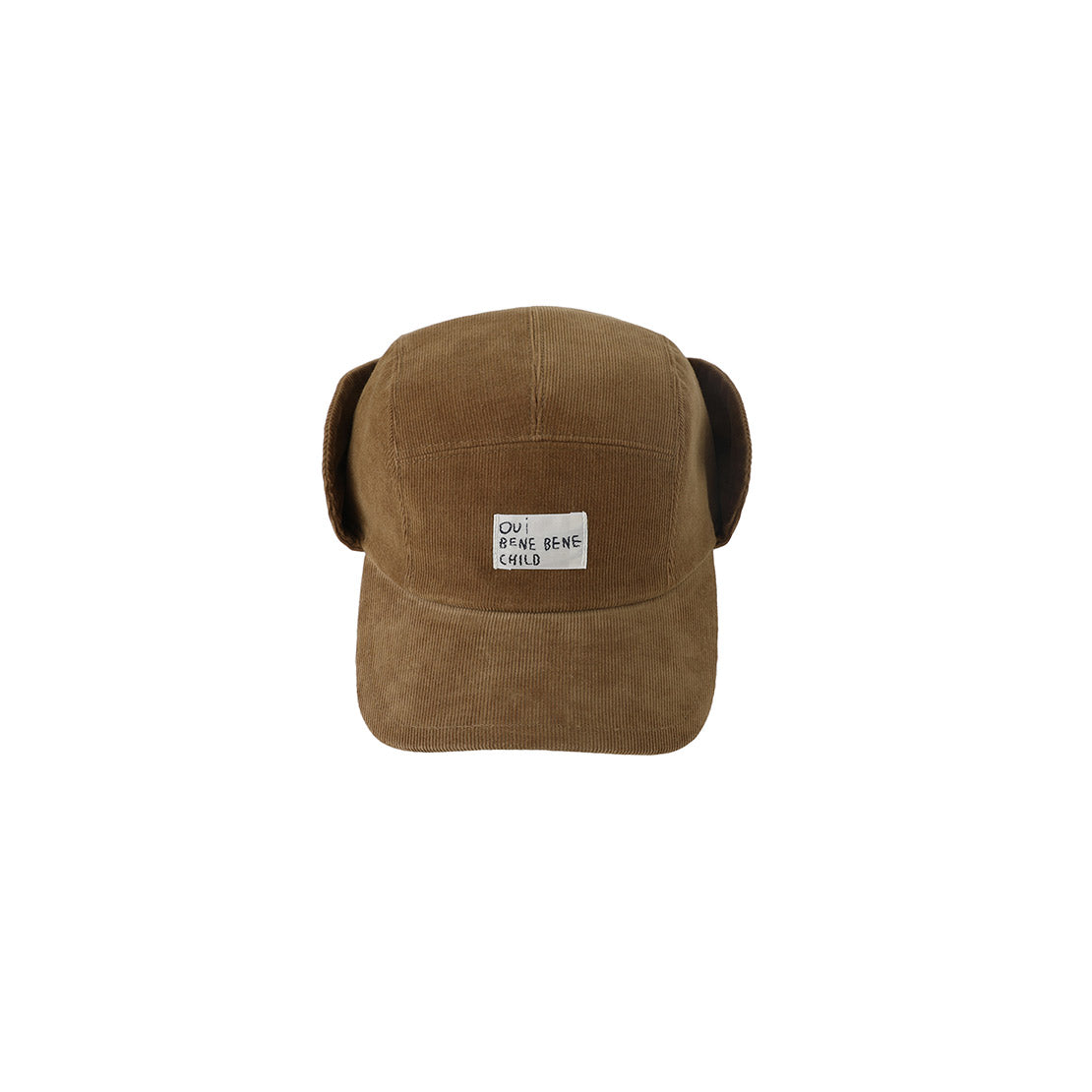 Bene Bene Brown Corduroy Ear Cap