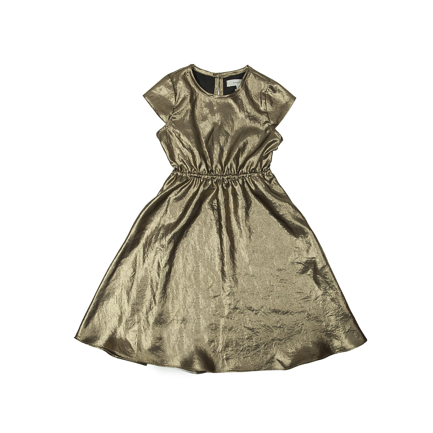 Bene Bene Gold Pearl Dress - Ladida