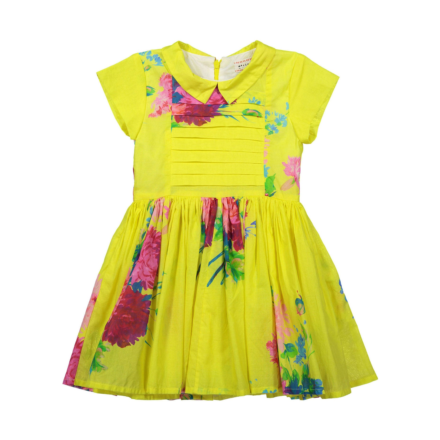Morley Yellow Floral Lemia Dress