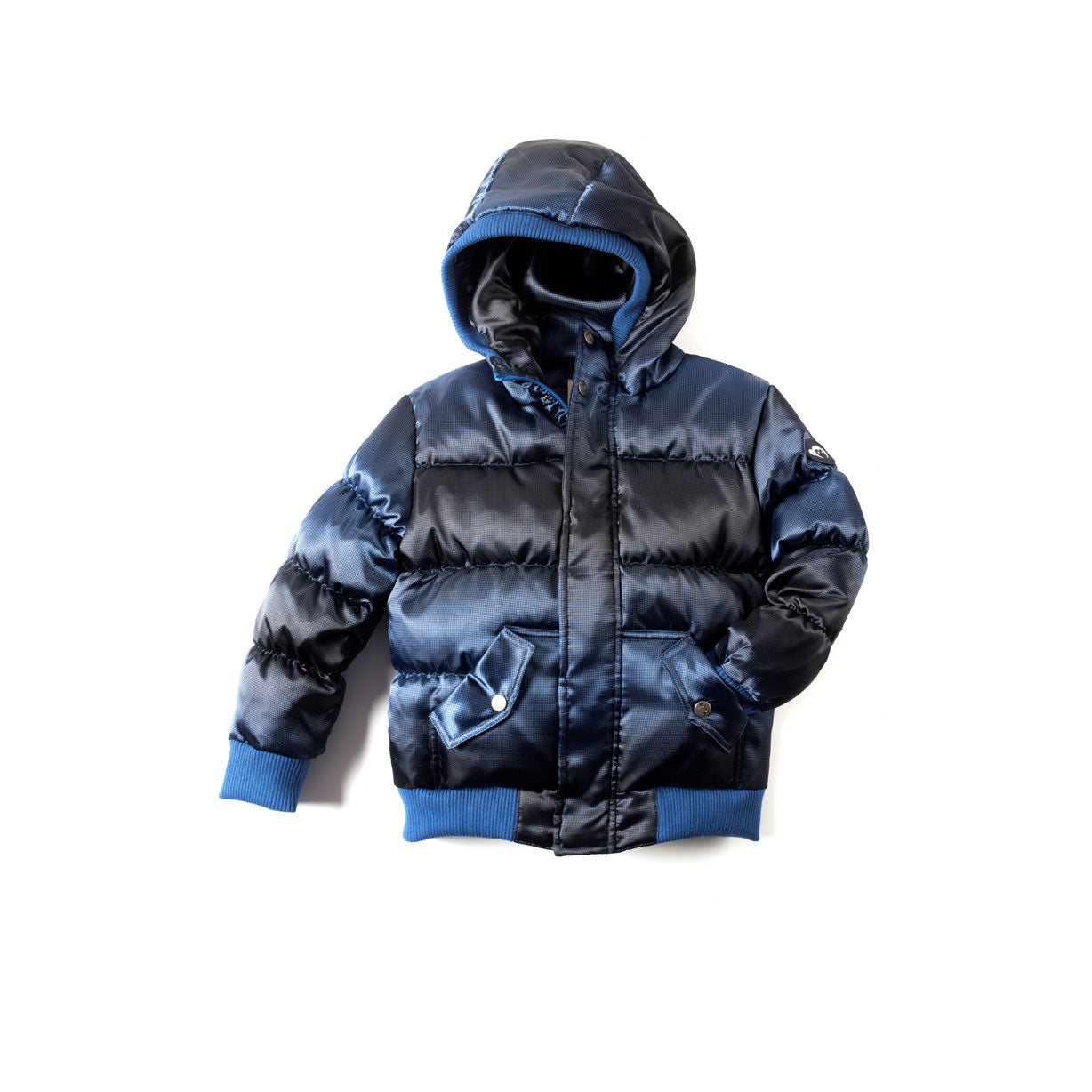 Appaman Blue Wave Puffy Coat - Ladida