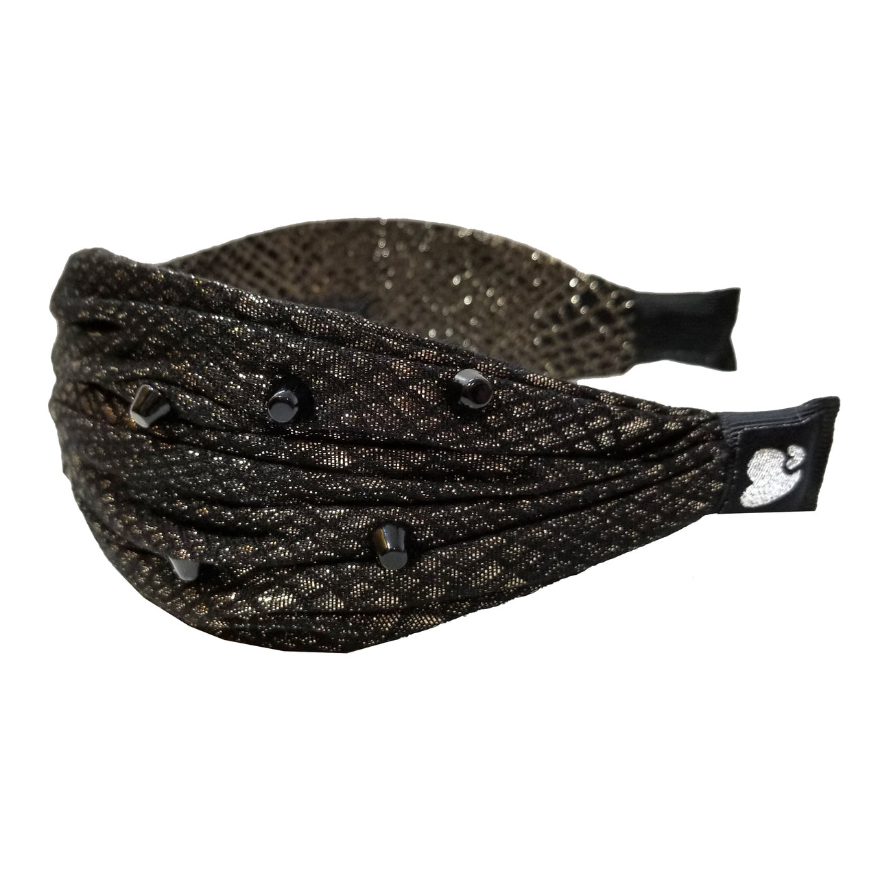 Amour Bows Jacquard Game Face Knot Headband - Ladida