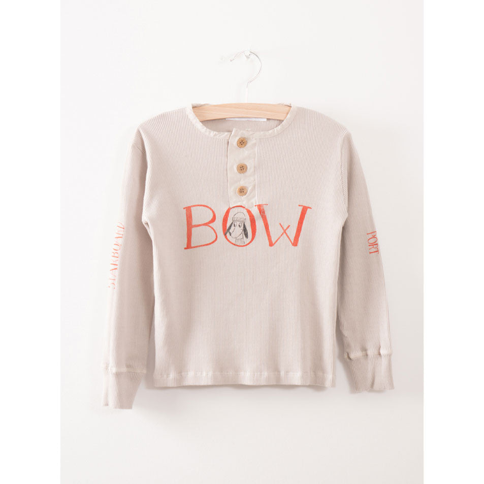 Bobo Choses Bow Buttons T-shirt - Ladida
