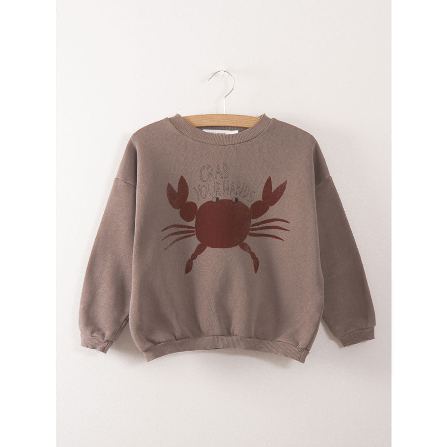 Bobo Choses Crab Your Hands Sweatshirt - Ladida