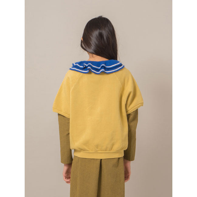 Bobo Choses Blue Ruffles Knitted Collar - Ladida
