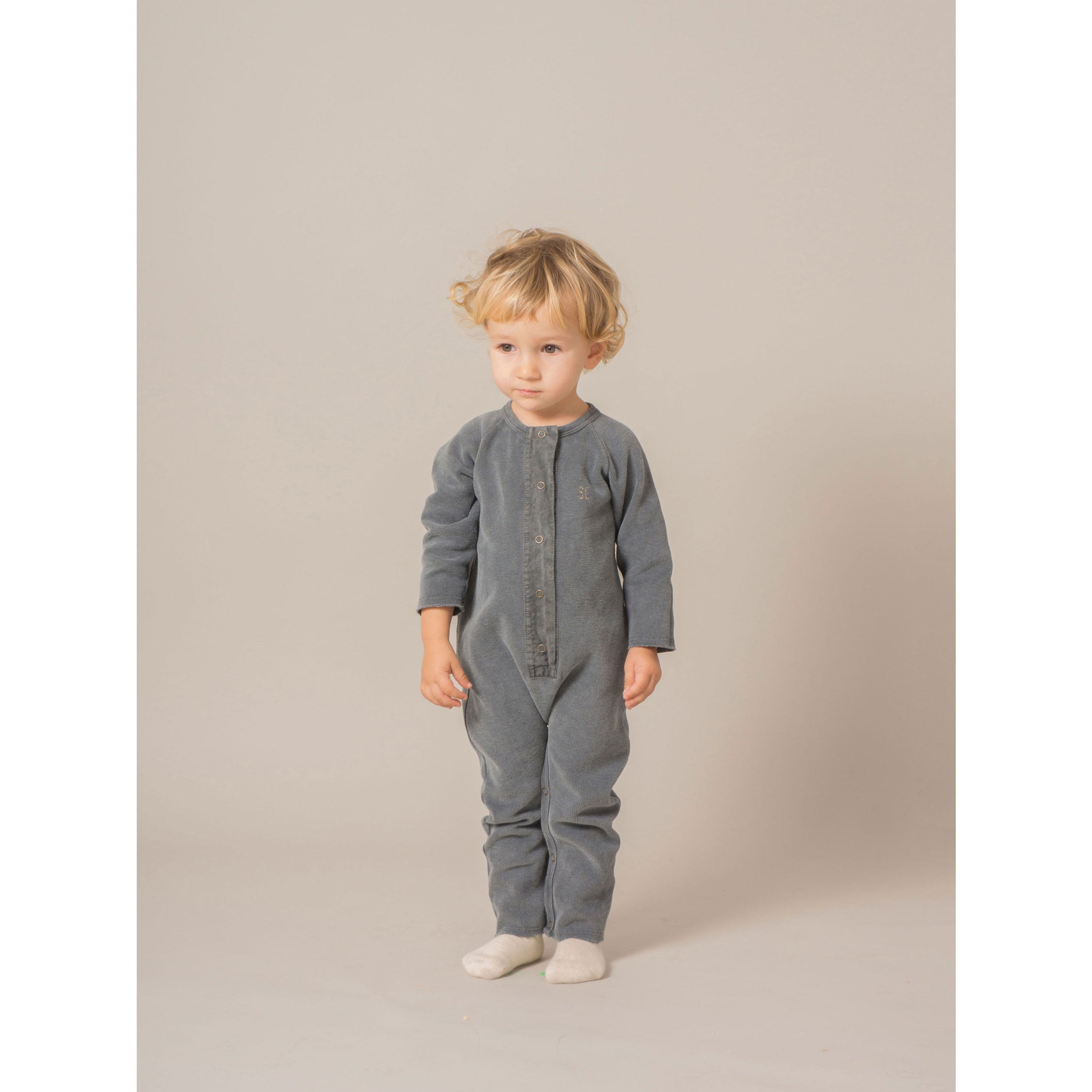 Bobo Choses Fish Fleece Jumpsuit - Ladida