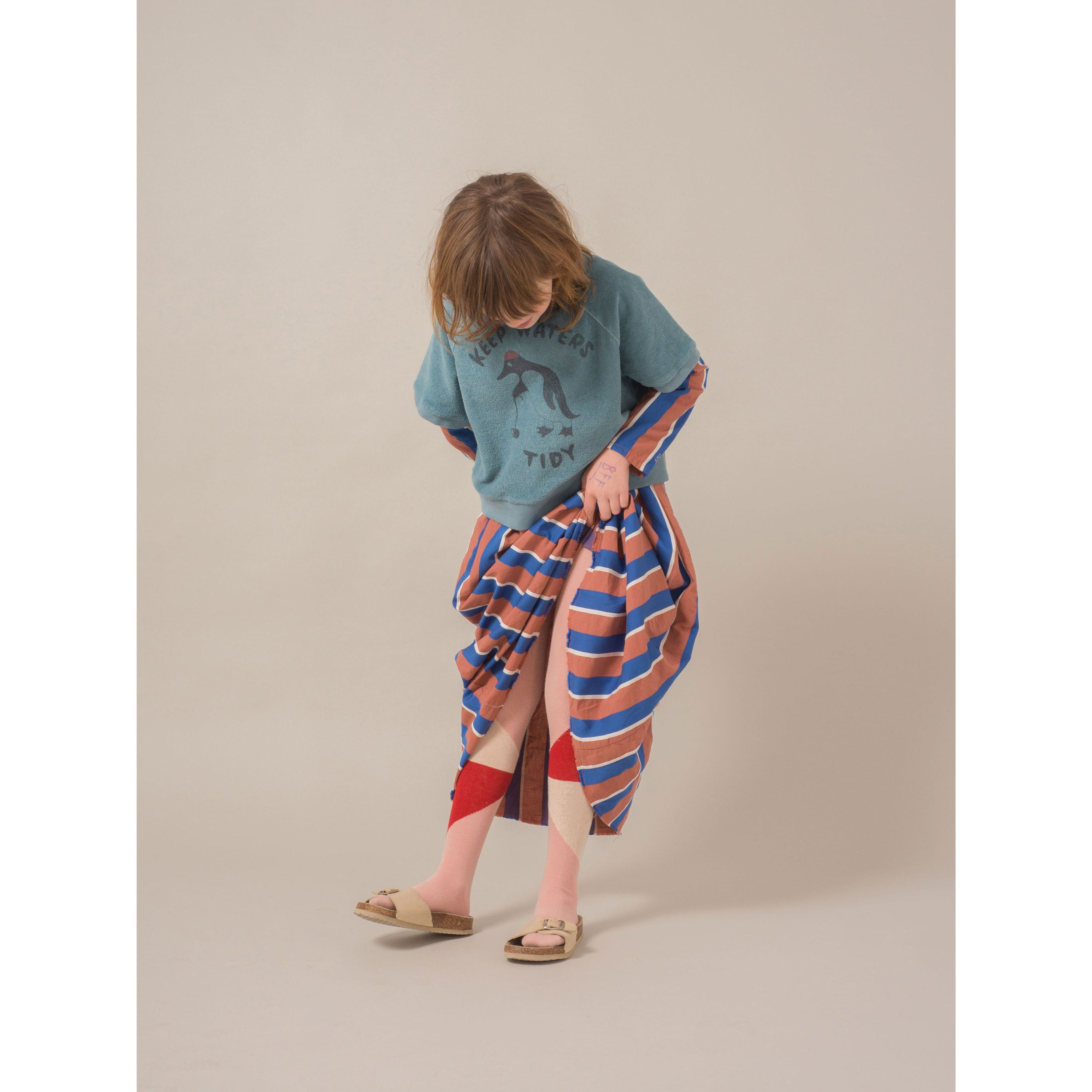 Bobo Choses Dusty Cedar Tights
