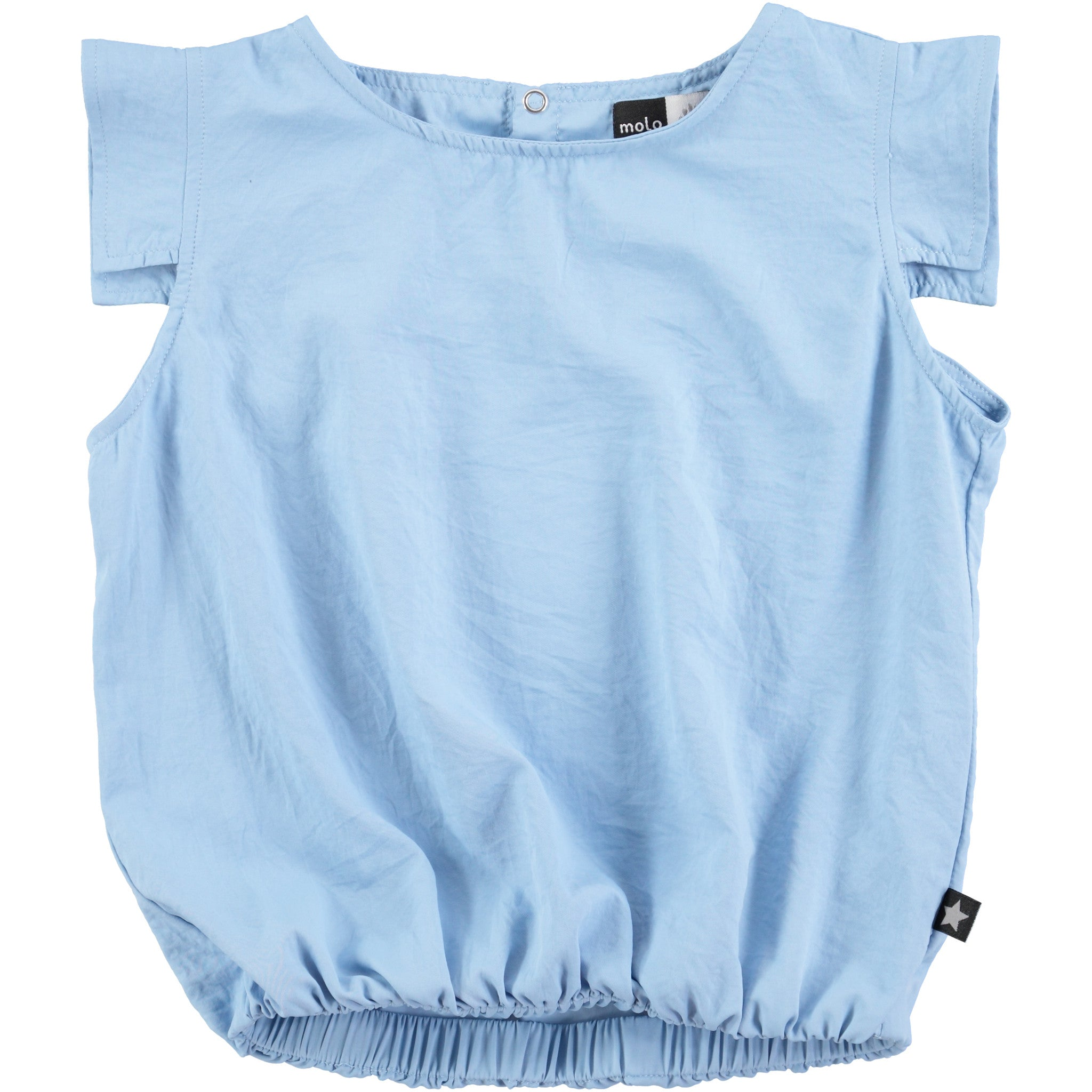 Molo Hazy Blue Blouse