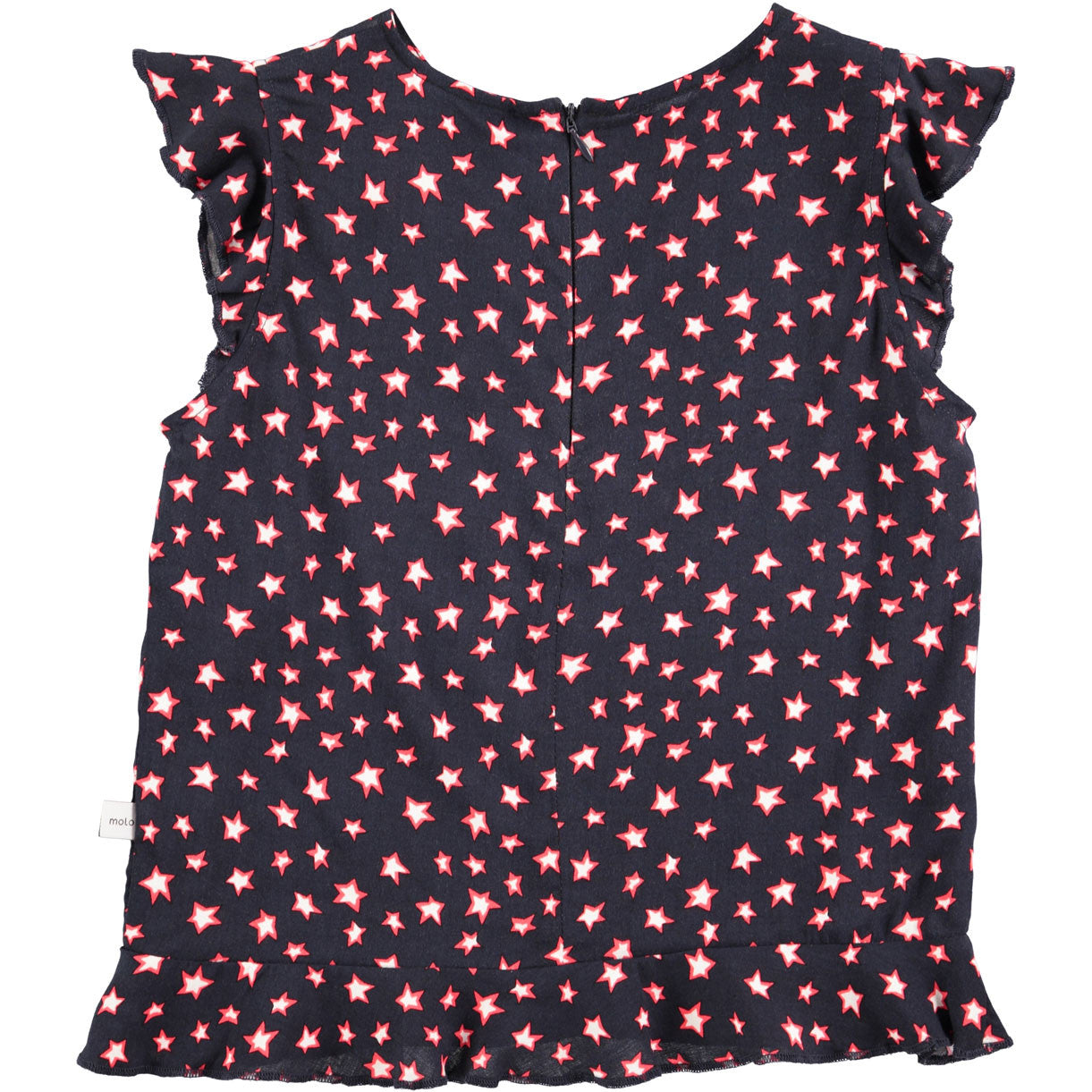 Molo Navy Star Blouse - Ladida