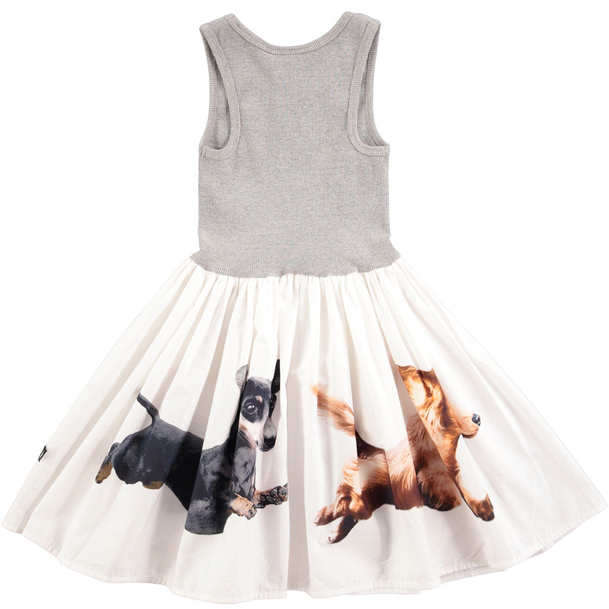 Molo Grey Cassandra Dogs Dress - Ladida
