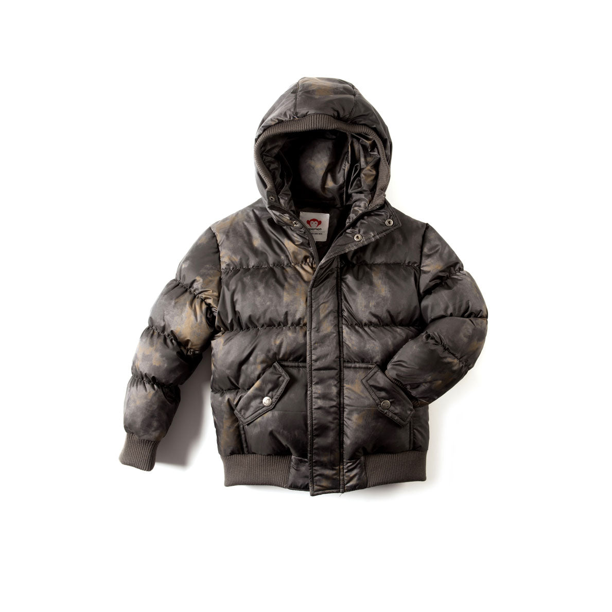 Appaman Grey Aurora Puffy Coat - Ladida
