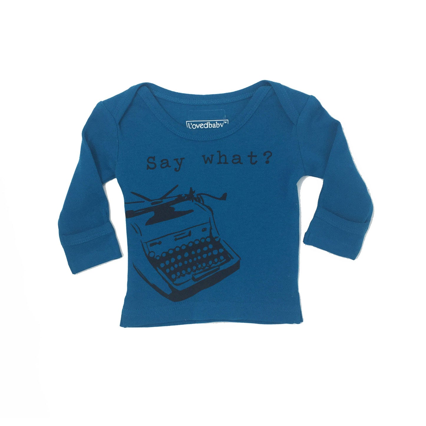 L'ovedbaby Lake Say What? Lap Tee