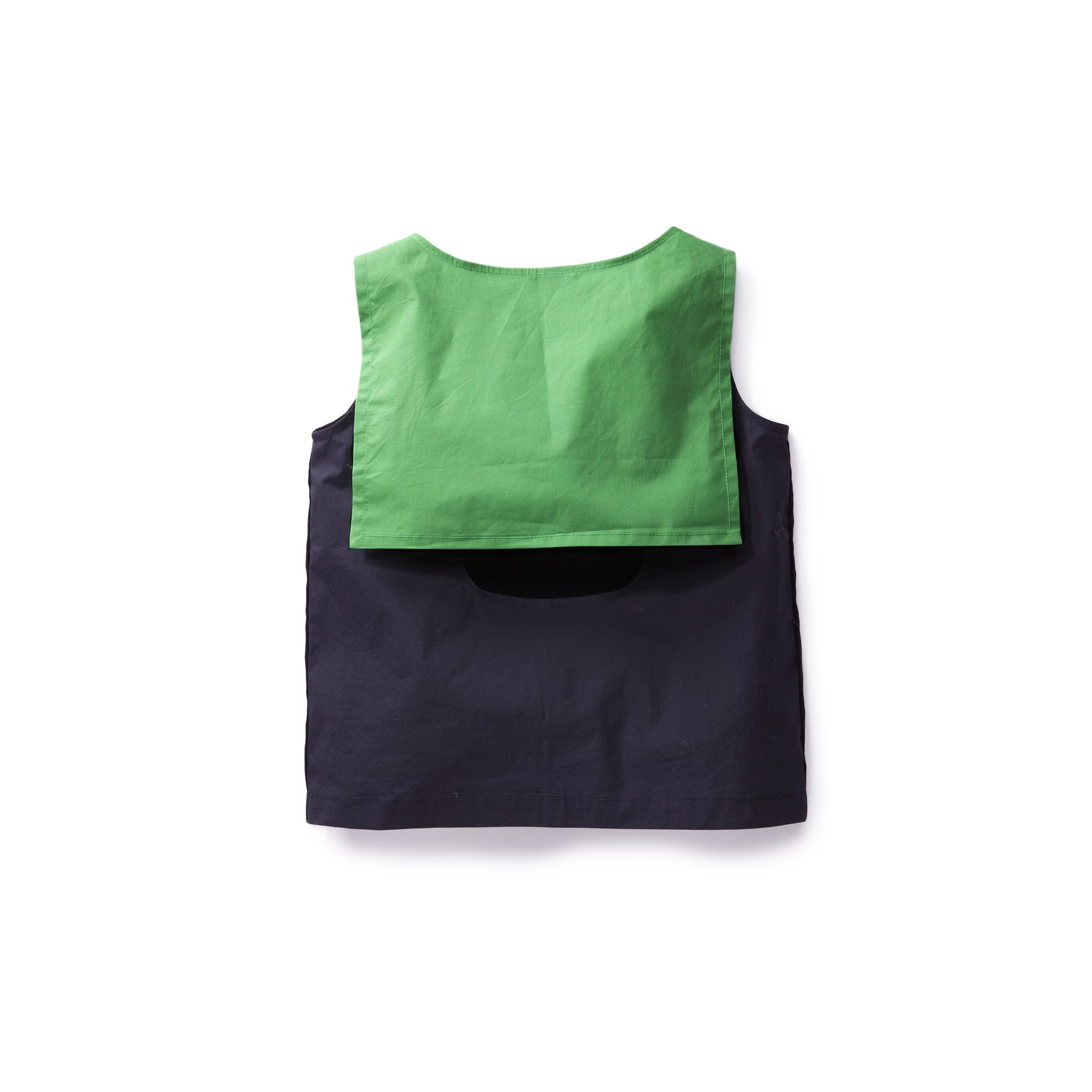 Once Navy Colorblock Top - Ladida