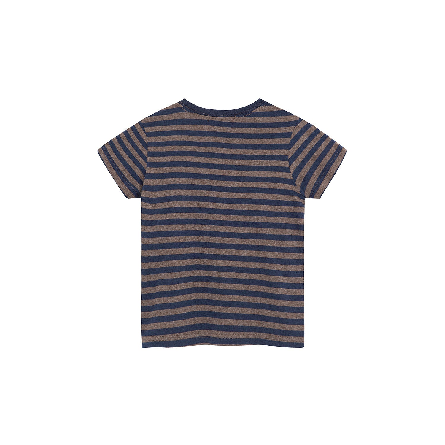 Bene Bene Deep Brown Stripe Oui Tee