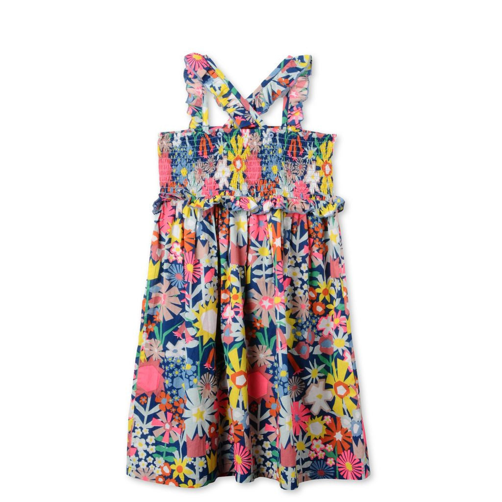 Stella Floral Celeste Dress - Ladida