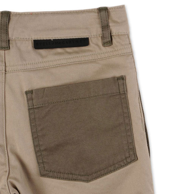 Stella Khaki Baby Joe Shorts