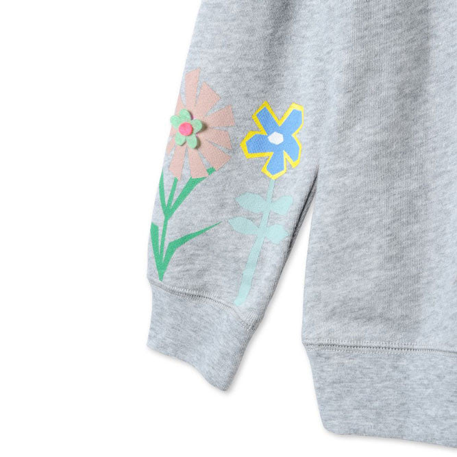 Stella Floral Applique Sweatsh