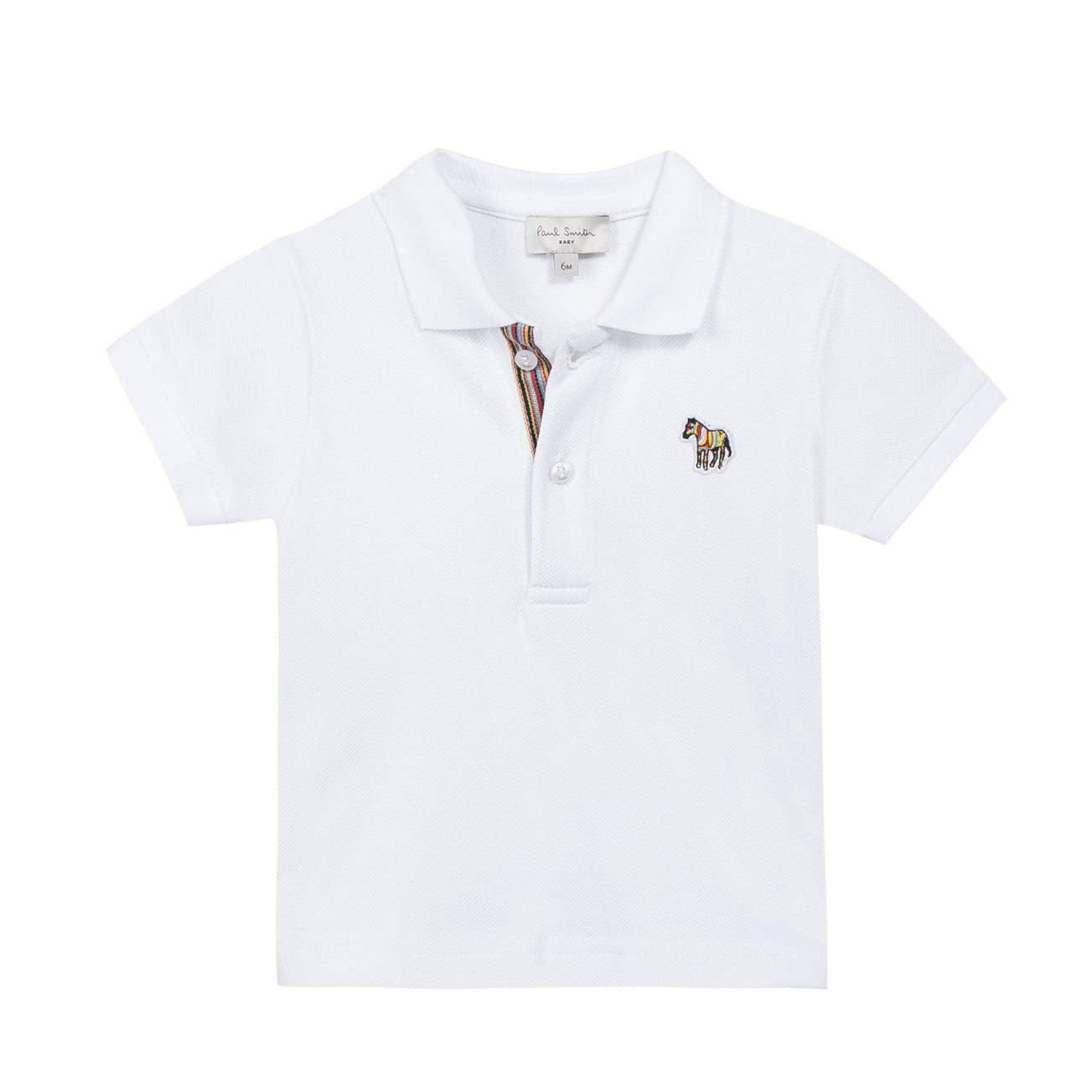 Paul Smith White Polo Shirt - Ladida