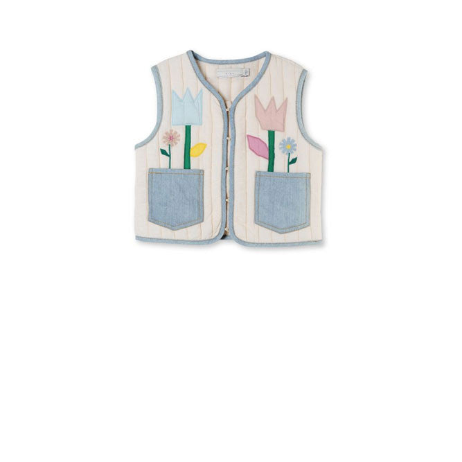 Stella Tulip Patched Vest - Ladida