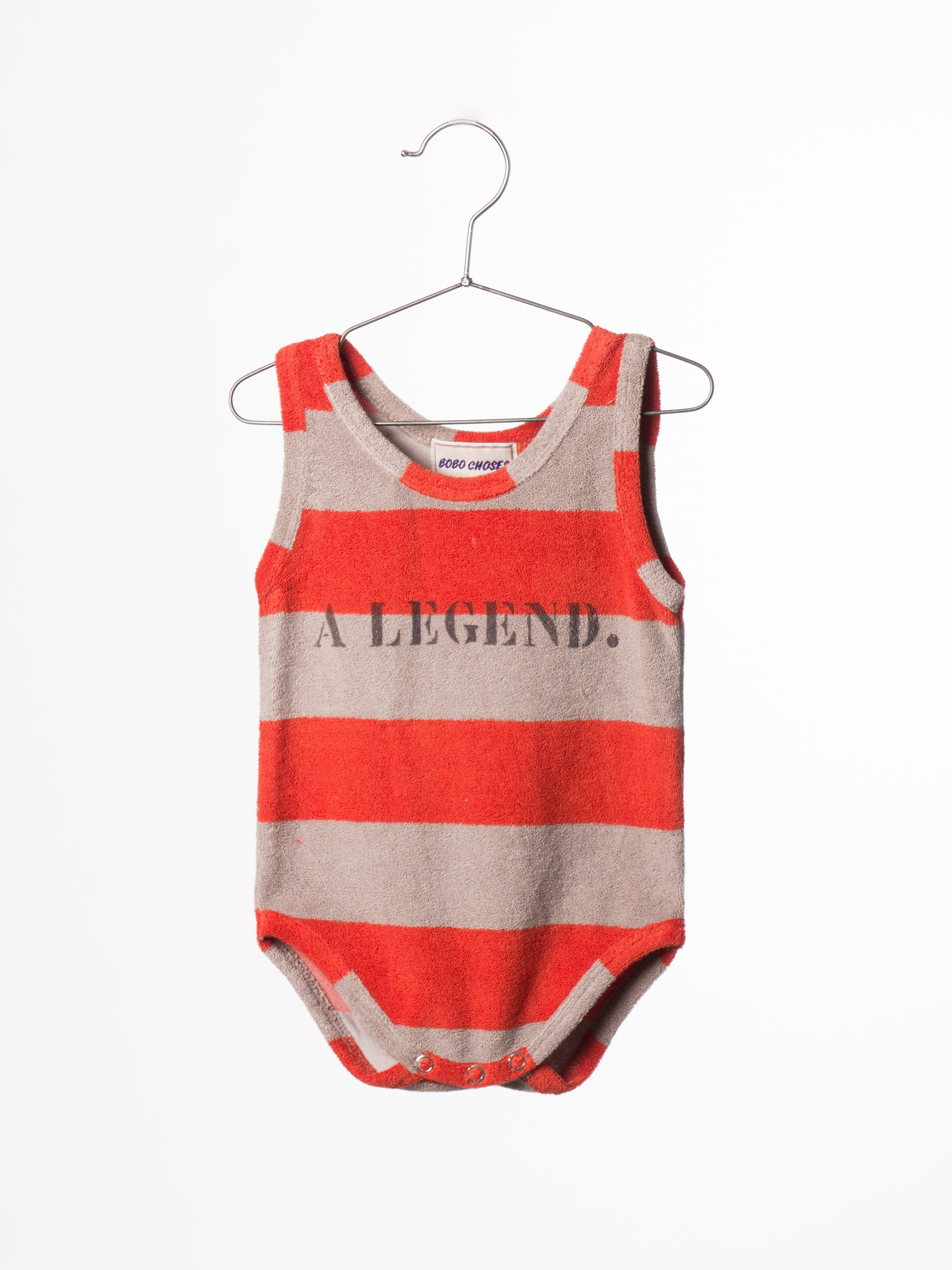 Bobo Choses A Legend Striped Terry Body - Ladida