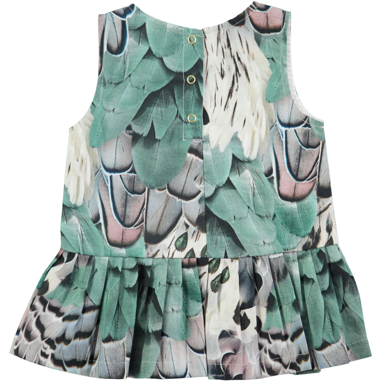 Molo Rooster Feathers Cai Baby Dress