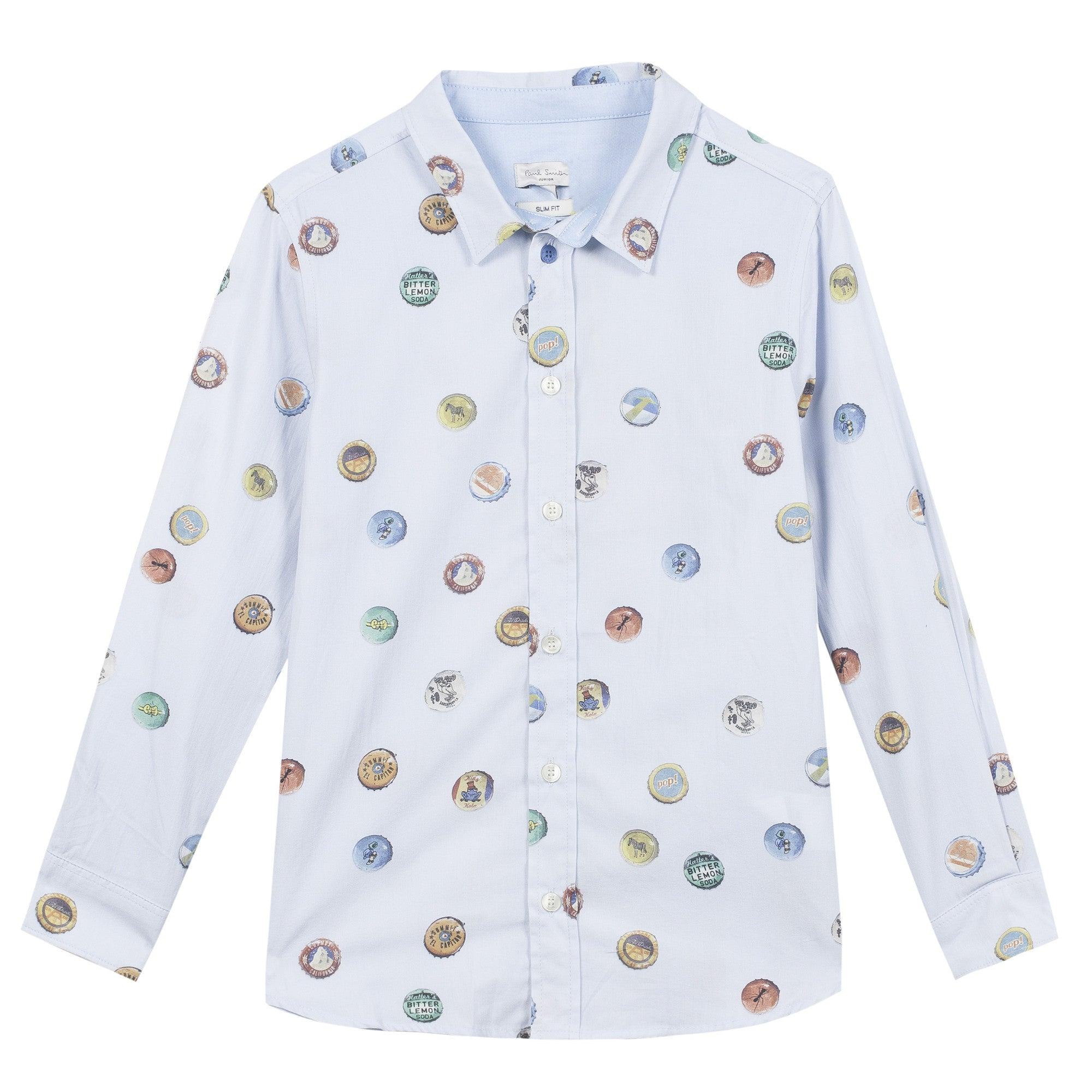 Paul Smith Sky Bottle Top Shir - Ladida