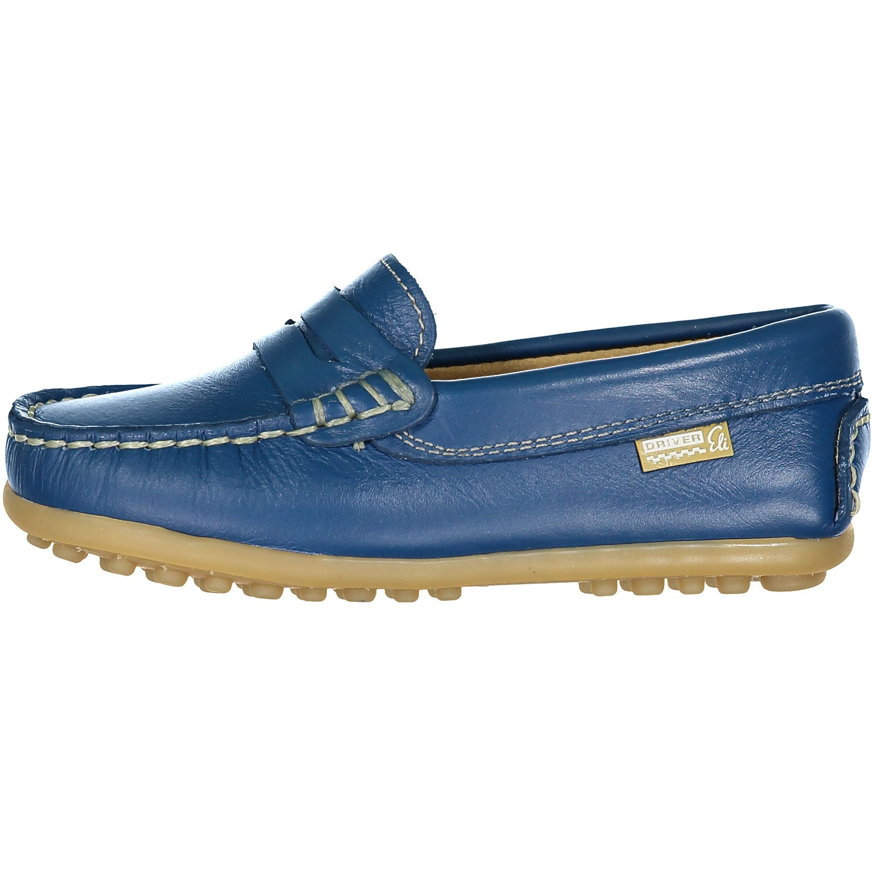 Papanatas Blue Penny Loafer