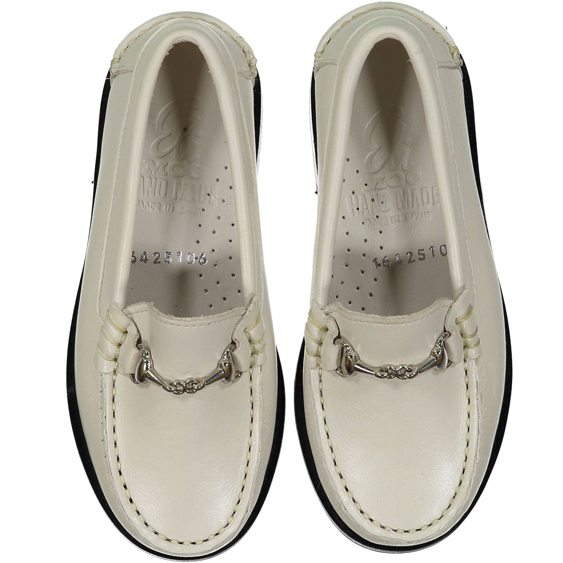 Papanatas Beige Leather Loafer - Ladida