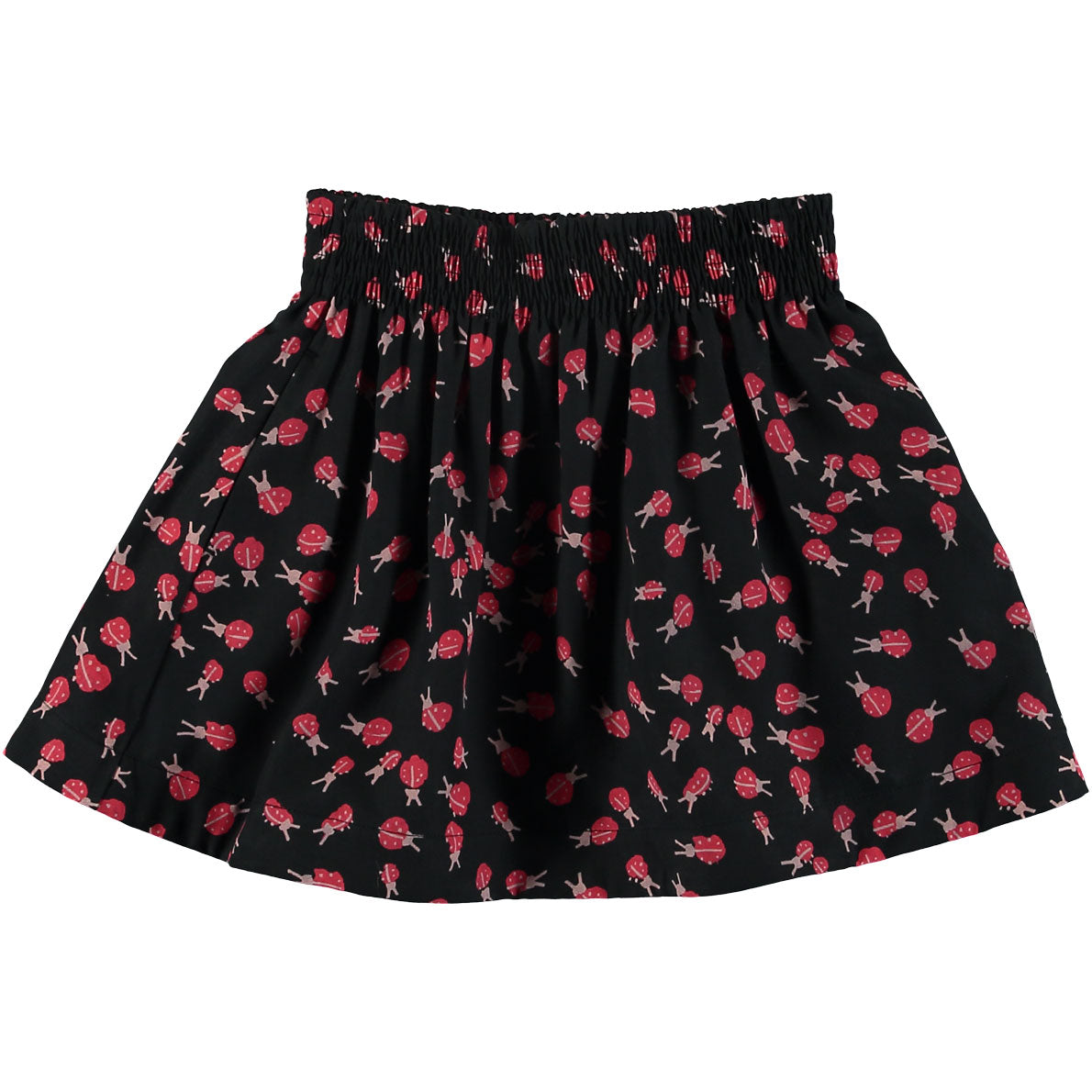 fcc15b5a8 Stella McCartney Black Ladybug Print Nat Skirt | Ladida