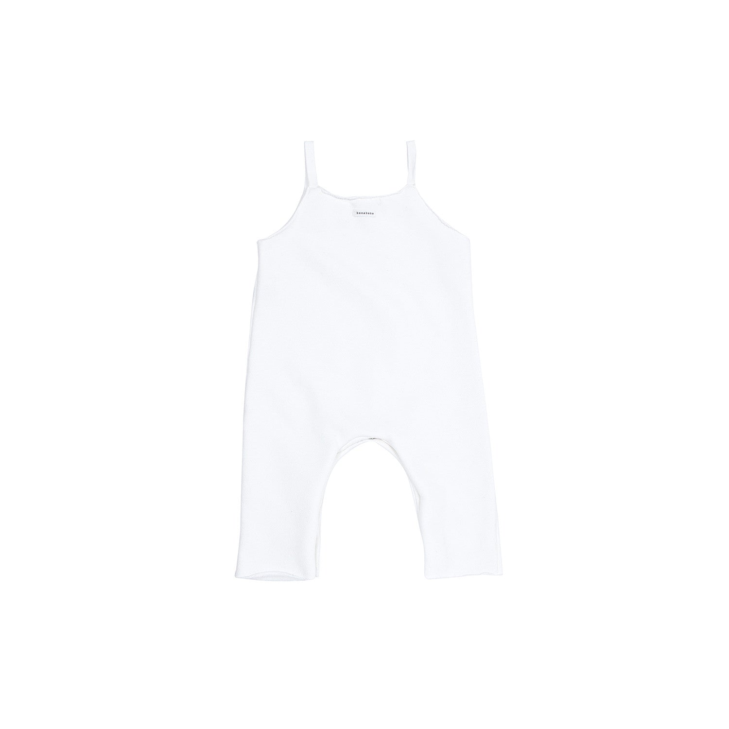 Bene Bene Ivory Cotton Jumpsuit