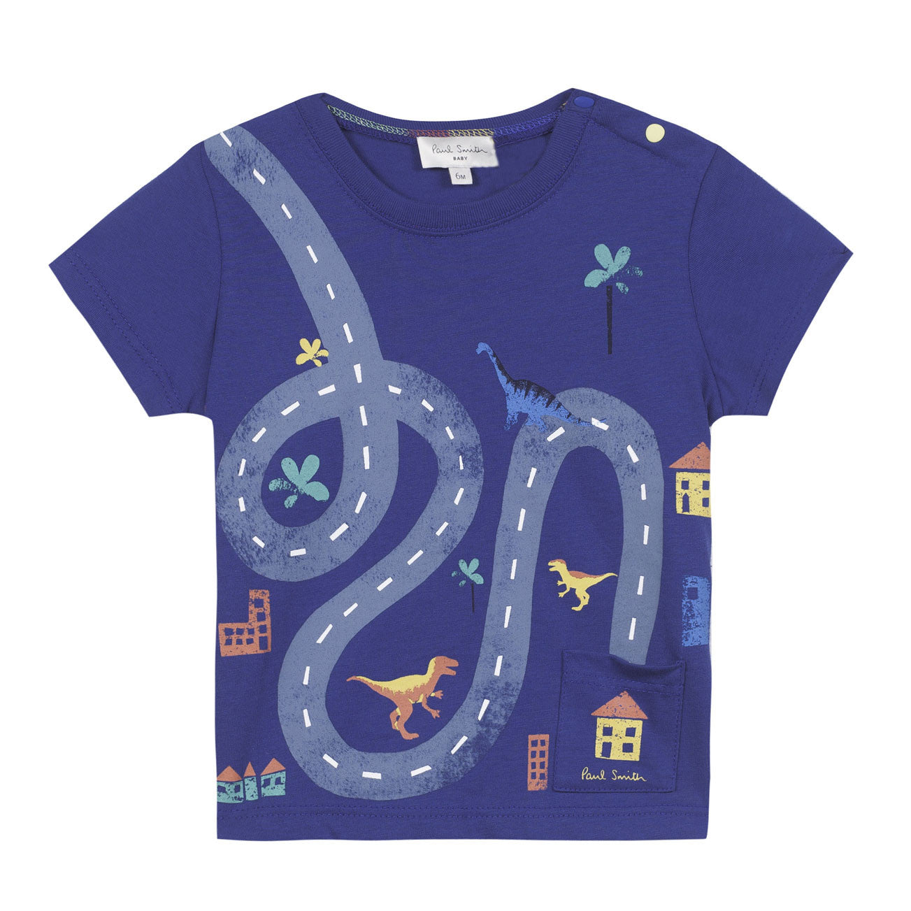Paul Smith Baby Blue Road Tee - Ladida