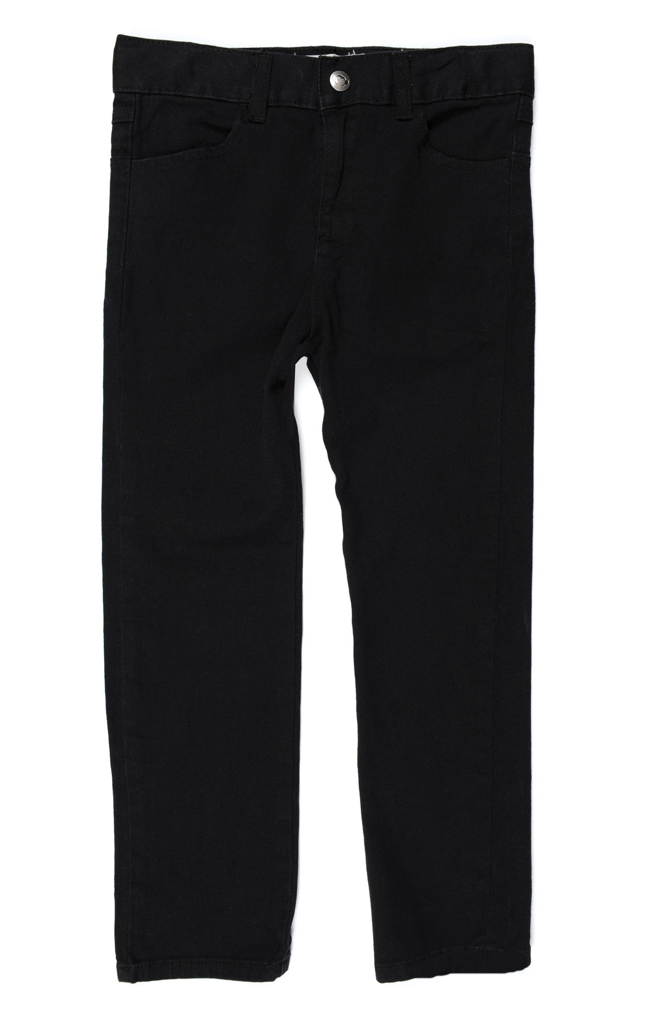 Appaman Black Twill Pants