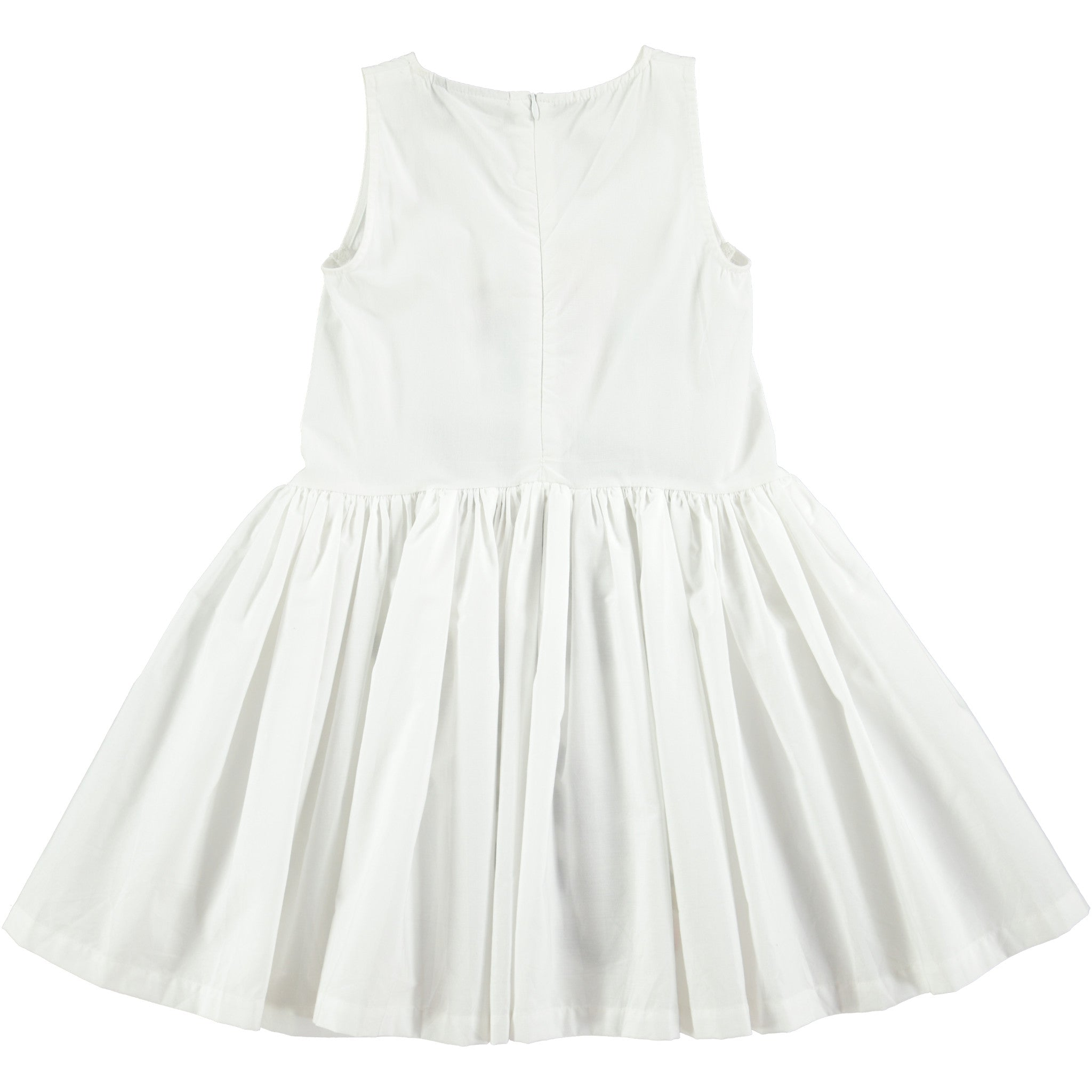 Molo  White Cassia Dress - Ladida