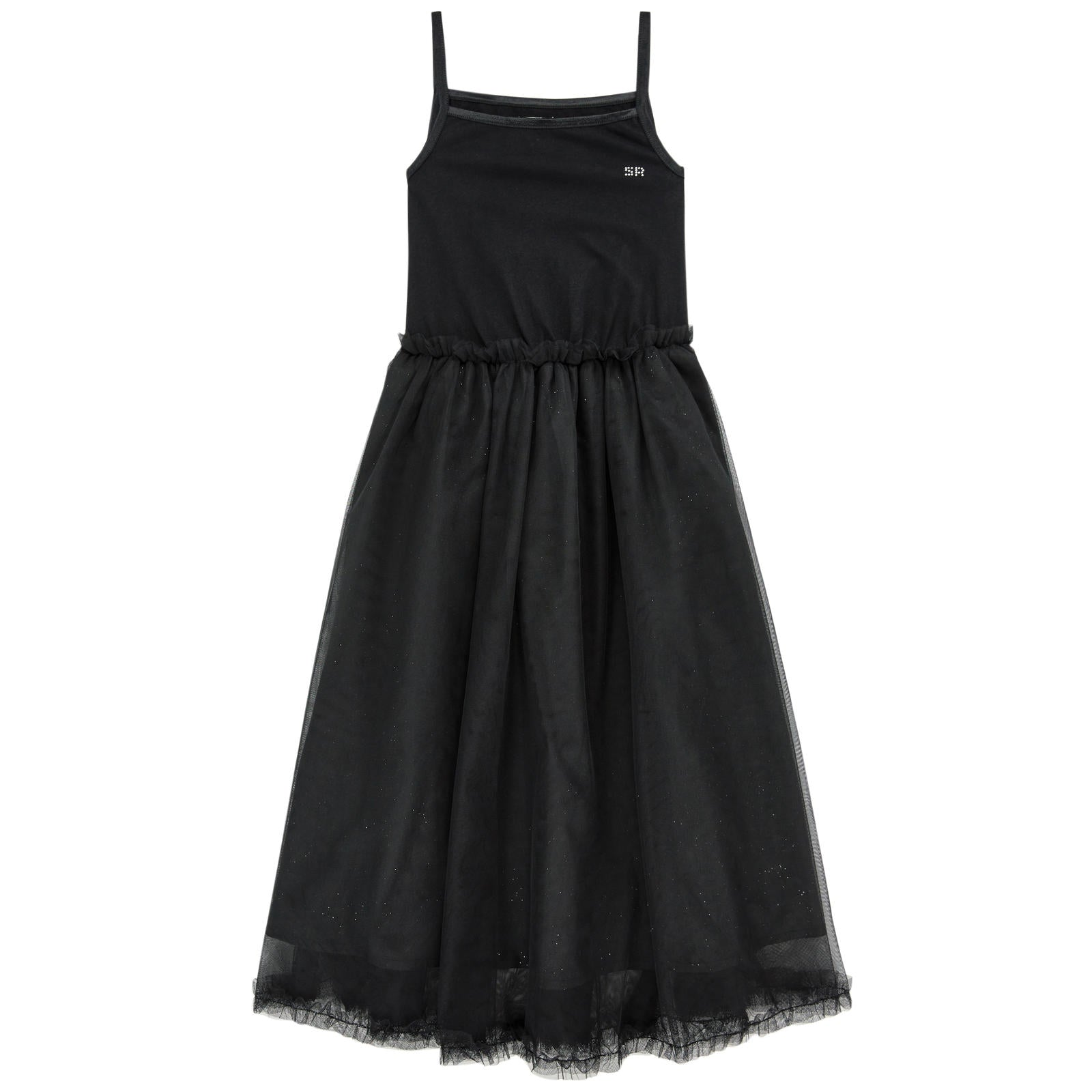 62f3f5df985 Sonia Rykiel Black Tulle Maxi Dress