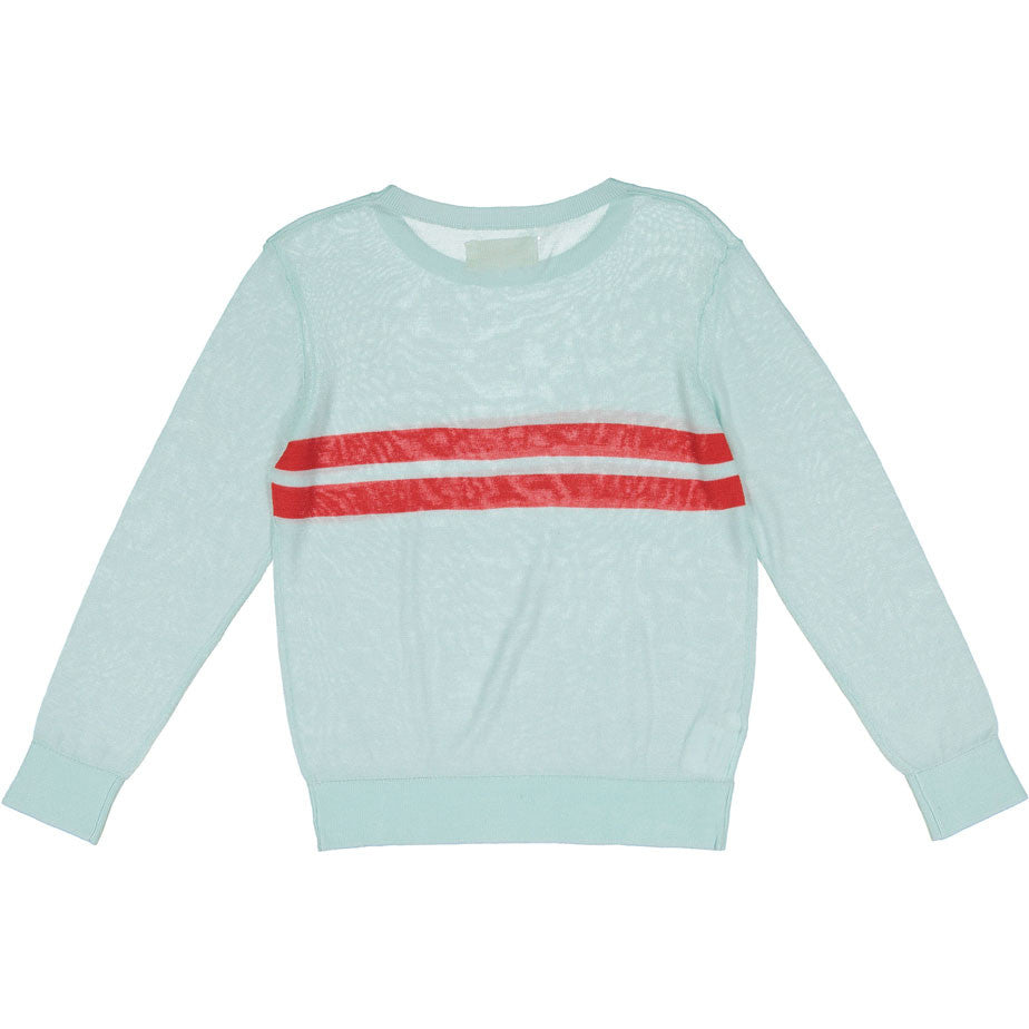 Maan Mint Stripe Sweater - Ladida