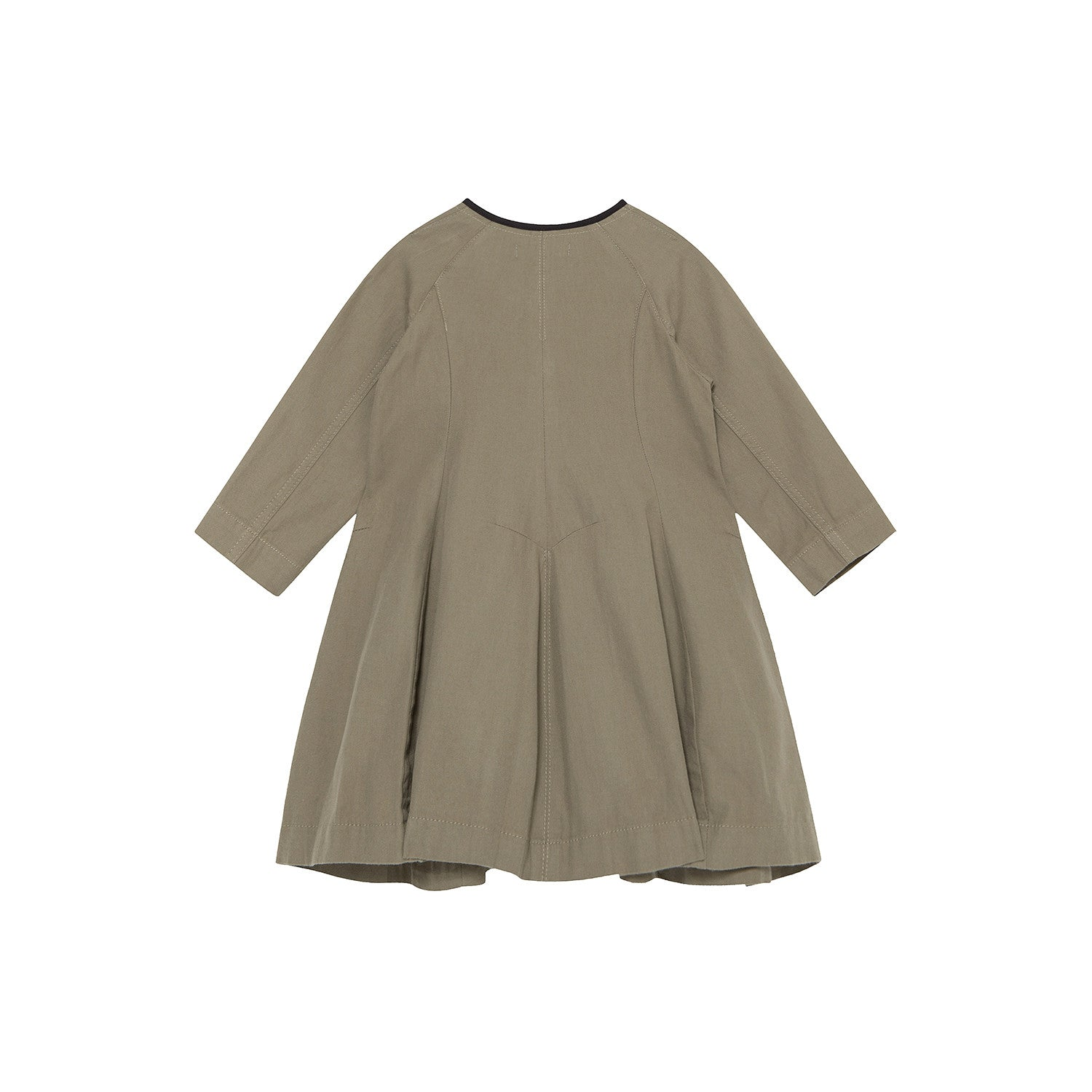 Bene Bene Khaki Dart Dress - Ladida