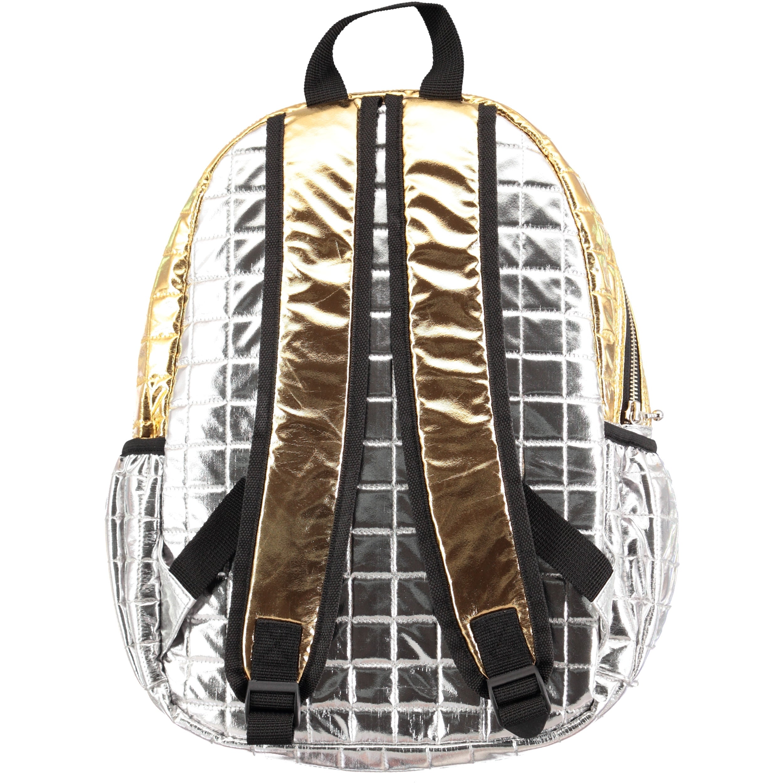 Molo Silver Quilted Backpack - Ladida