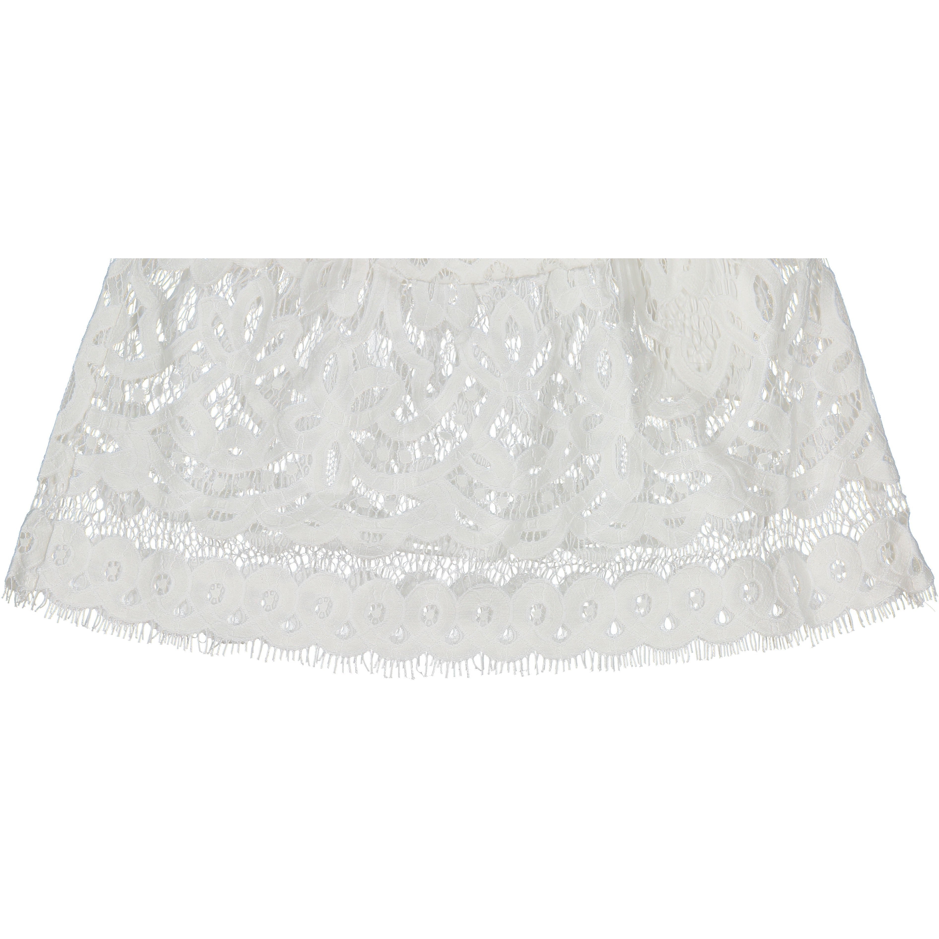 Remix Cream Audrey Ruffle Skirt