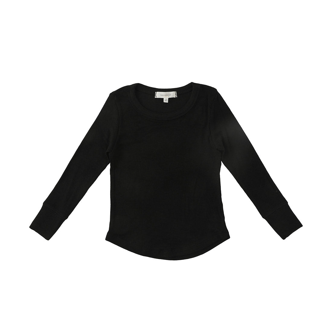 Bene Bene Black Buddy Basic Tee
