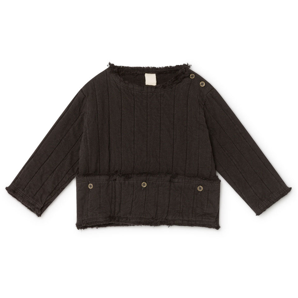 Little Creative Factory Black Baby Quilted Jersey