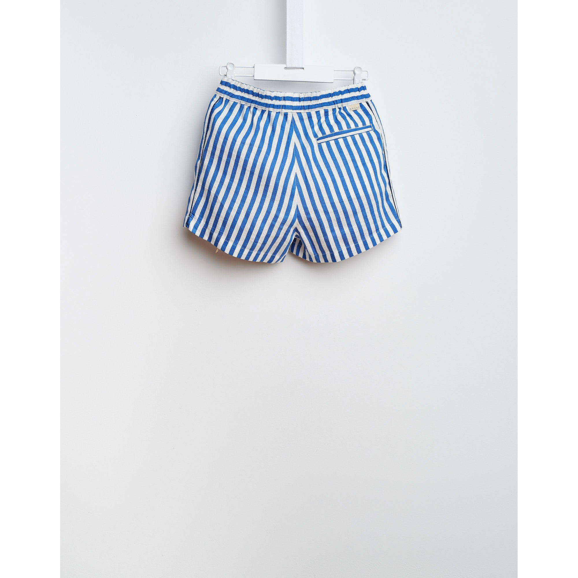 Bellerose Blue Stripe Shorts