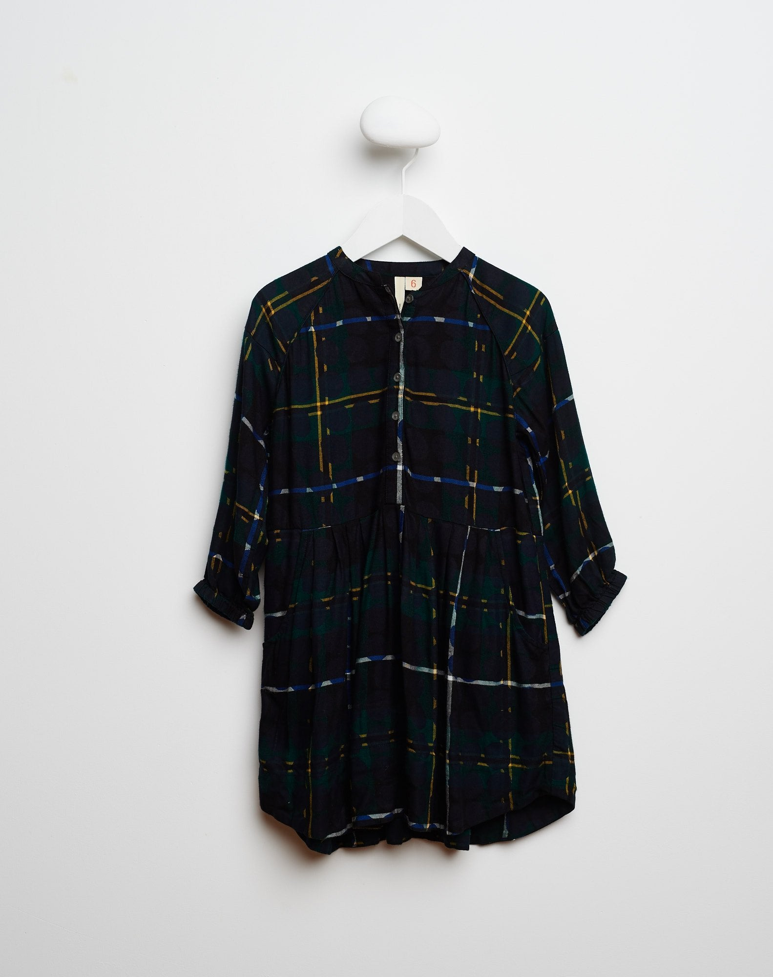 Bellerose Dark Plaid Shirtdress - Ladida