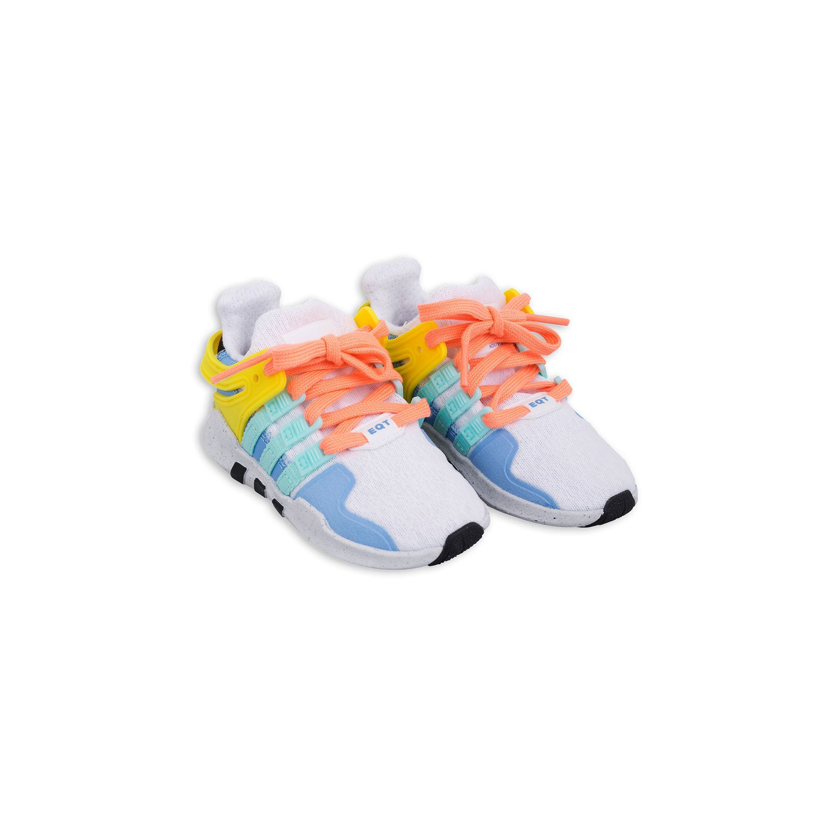 best authentic a0121 4276a Mini Rodini Adidas White Rainbow Sneakers - Ladida