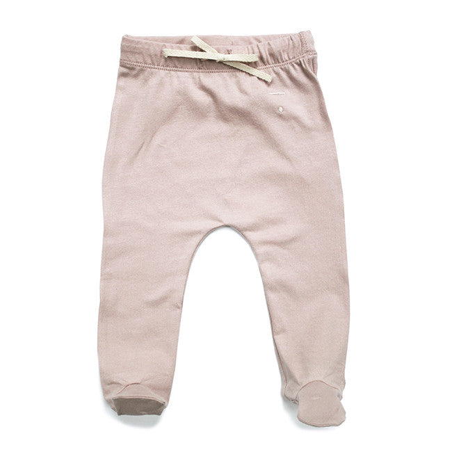 Gray Label Vintage Pink Footies - Ladida