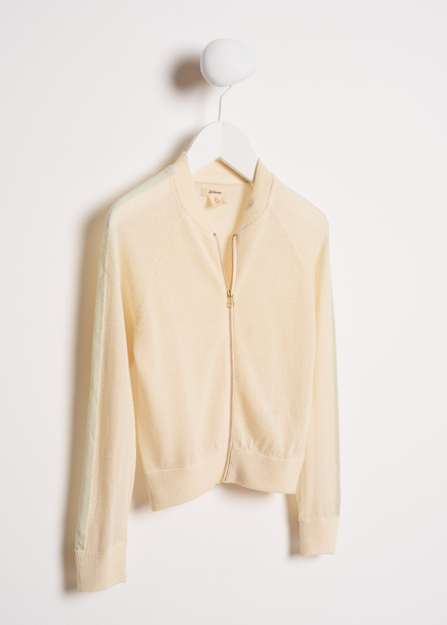 Bellerose Cream Lurex Sweater
